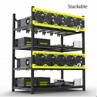 Veddha 8/6 GPU Mining Rig Aluminum Case Stackable Open Air Frame ETH/ZEC/Bitcoin