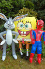 Inflatable Toy Garden Beach Spider Man Buggs Spongebob