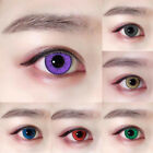 Women Coloured Lenses Crazy Color Contacts Big Circle Eyes Makeup Beauty Lens US