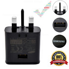 UK Wall Plug Adaptive Fast Charger & Cable Samsung S8 S7 S8+ Edge S6 Note 3 4 5