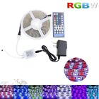 5050 SMD RGB+White RGBW Flexible LED Strip Lights Remote Power Supply Waterproof