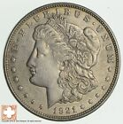1921 - Morgan Silver Dollar - Last Year - 90% - US Coin *346