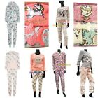 Ladies Cosy Pyjamas Set Gift Box Pjs Christmas Xmas Womens Primark Fleece Disney