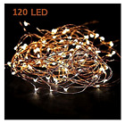 Starry String Lights Warm White Color LED's on a Flexible Copper Wire - LED Stri