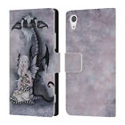 OFFICIAL AMY BROWN FOLKLORE LEATHER BOOK WALLET CASE COVER FOR SONY PHONES 1