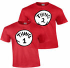 THING 1 THING 2 DR.SEUSS T SHIRT ALL SIZES ADULT and YOUTH