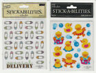 "U CHOOSE  Stickabilities BABY flat Stickers  4X5"" (2 sheets)"