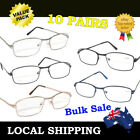 Cheap 10 Pairs Men Women Standard Metal Budget Reading Glasses Bulk Sale 1.0~3.5