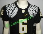 OREGON DUCKS Wings Black NIKE FOOTBALL JERSEY #6 Nelson KIDS Preschool 4 or 5