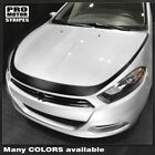 Dodge Dart 2013-2018 Hood Outline Accent Stripes Decals (Choose Color) $38.5 USD on eBay
