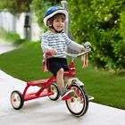 Tricycle For Kids Childrens Girls 3 Wheel Small Red Radio Flyer Trike Bike New