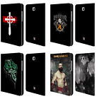 OFFICIAL WWE SHEAMUS LEATHER BOOK WALLET CASE COVER FOR SAMSUNG GALAXY TABLETS