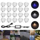 20pcs 30mm 12V IP67 LED Deck Lights Home Garden Hotel Bar Decor landscape lights