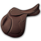 Pessoa Heritage PRO Covered Leather AMS All Purpose Saddle with Grippy Seat