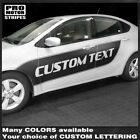 Dodge Dart 2013-2018 Side Accent Sport Stripes Decals (Choose Color) $78.4 USD on eBay
