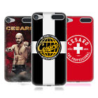 UFFICIALE WWE CESARO COVER MORBIDA IN GEL PER APPLE iPOD TOUCH MP3