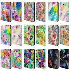 OFFICIAL HAROULITA FEATHERS LEATHER BOOK WALLET CASE FOR SAMSUNG GALAXY TABLETS