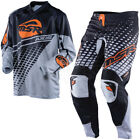 MSR AXXIS MOTOCROSS KIT COMBO ADULT BLK/ORANGE VARIOUS SIZES *RRP £97.00*