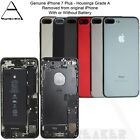 Genuine Apple iPhone 7 & 7 Plus REAR BACK CHASSIS HOUSING WITH PARTS - GRADE A