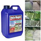 Patio Magic 2.5 Mould Algae Killer Remover Decking Fencing Path Driveway Cleaner