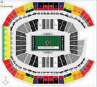 Atlanta Falcons VS New Orleans Saints 48 Yard Line 2ND ROW w/ On Field Access!!