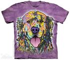 New The Mountain Russo Golden Retriever T Shirt