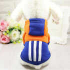 High Quality Pet Winter Clothes Puppy Dog Cat Fashion Costume Cotton Hoodie