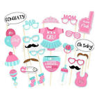 Photo Booth Requisiten Baby Foto Accessoires Babyparty Taufe Geburt NEU