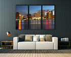 """New Orleans Skyline Downtown, Canvas print, Wall art , up to 60""""x 40"""","""