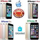 Apple iPhone 6S/6 Plus/6/5S/4S (Factory Unlocked) Smartphone AT&T T-Mobile GFED