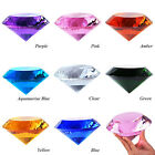 """LONGWIN Crystal Diamond Paperweight 150mm 5.9"""" W Solid Color Storage Box Pack"""