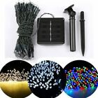 2x 200led 22m Outdoor Solar Power String Light Garden Christmas Party Fairy Lamp
