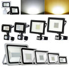 LED Floodlight 10W 20W 30W 50W 100W 150W 200W 300W 500W PIR Sensor Outdoor Lamps