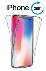 NEW Fully Body 360 Fitted Protective Clear Case for i phone 5SE 6PLUS 5S 8PLUS X