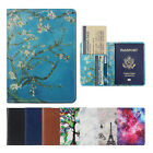 Внешний вид - Passport Holder Travel Wallet RFID Blocking Case Cover - Holds Passport / Card