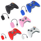 Wireless Games Controllers Gamepad Joystick+Receiver For Microsoft Xbox 360 2.4G