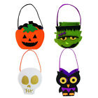 Halloween Non-woven Trick or Treat Goodie Bag Ghost Pumpkin Skeleton Gift Bags