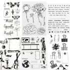 alphabet dating - 1X Silicone Alphabet Transparent Clear Rubber Stamp Sheet Cling Scrapbooking DIY