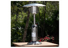 Portable Table Top Patio Heater Outdoor Round Stainless Steel Finish Table Tops