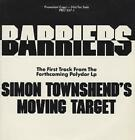 "Barriers - Clear Vinyl Simon Townshend 12""  record (Maxi) promo"