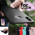 Ultra-thin Slim Case Luxury Silicone Soft Bumper Back Cover For Apple iPhone X