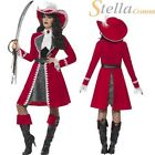 femmes deluxe authentique Femmes Costume Capitaine Crochet de pirate Peter Pan