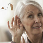 Behind Ear Sound Voice Amplifier Digital Hearing Aid BTE Rechargeable Device New