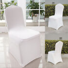 400x White Lycra Spandex Stretch Chair Cover Wedding Party Banquet Free Shipping