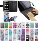 For Acer Iconia One 7 B1-750 B1 750 USB Andriod Tablet Keyboard Case Cover Flip
