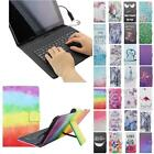 "For Huawei M2 Yougth PLE-703L 7.0"" USB Andriod Tablet Keyboard Case Cover Flip"