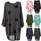 Fashion Women's Batwing Lagenlook Tunic Dress Top Casual Baggy Blouse Plus Size