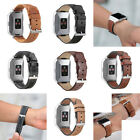 NEW Replacement Fitbit ionic Genuine Leather Watch Wrist Bands Strap Accessories