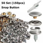 STAINLESS+STEEL+BOAT+COVER+CANVAS+SNAP+FASTENER+REPAIR+KIT%2D+150+PIECE+SL+MARINE