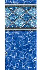 DIAMOND WAVE Above Ground Swimming Pool Beaded Replacement Liner - (Choose Size)